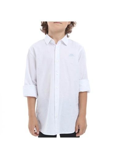 Robe di Kappa Rdk Çocuk Gömlek Barn  Beyaz